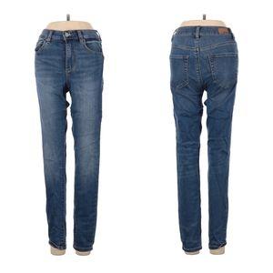 Garage Jeans Blue Dark Wash Mid Rise Skinny Jeans